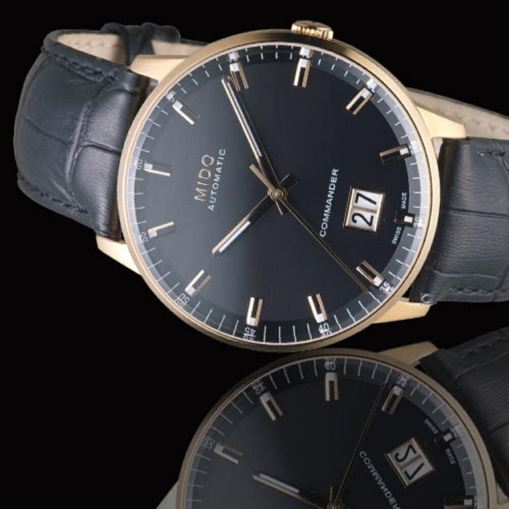 MIDO 美度錶  Commander 指揮官系列 Big Date紀念日腕錶 M0216263605100