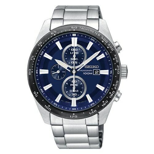 方采鐘錶:SSEIKO精工CRITERIA太陽計時運動腕錶SSC647P1V176-0AV0B