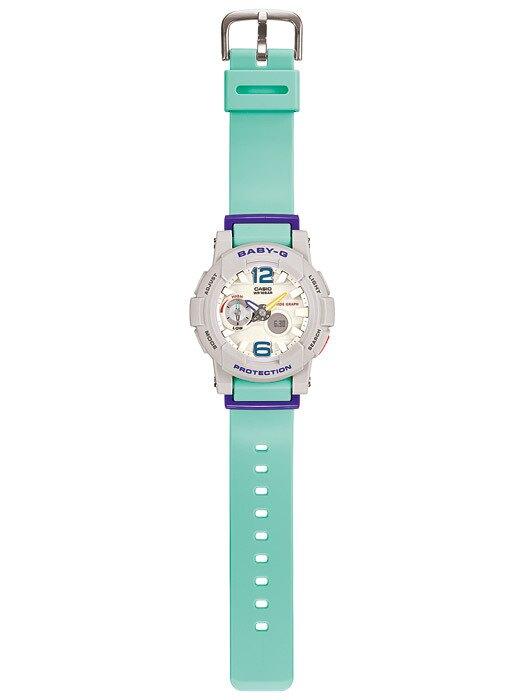 CASIO Baby-G BGA-180-3B 新沙灘色系女錶(湖水藍)