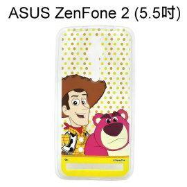 迪士尼透明軟殼  點點  胡迪  熊抱哥 ASUS ZenFone 2 ZE550ML Z