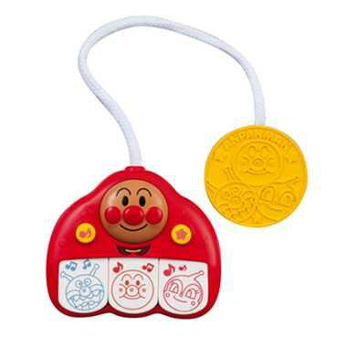 【真愛日本】18012500023 發聲三鍵琴-麵包超人 麵包超人 有聲 樂器玩具 音樂玩具 兒童玩具