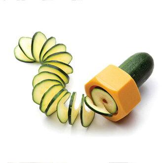 螺帽黃瓜切片器 瓜類料理刀 (不挑色)