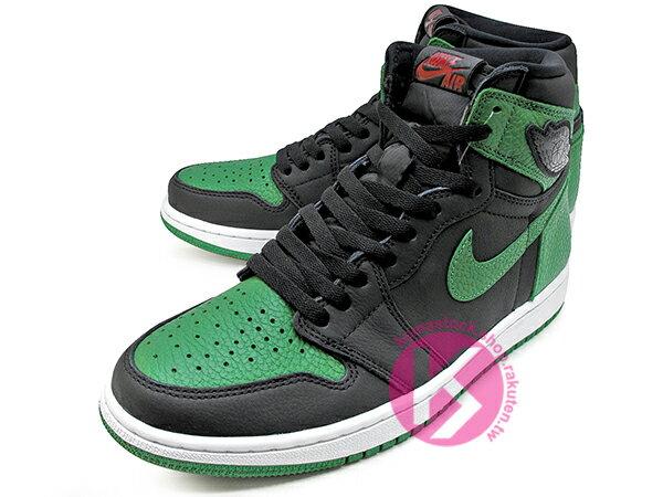2020 經典復刻款 九孔鞋洞 NIKE AIR JORDAN 1 RETRO HIGH OG PINE GREEN BLACK 黑綠 CELTICS 波士頓 塞爾提克 黑綠腳趾 AJ (555088-030) ! 1