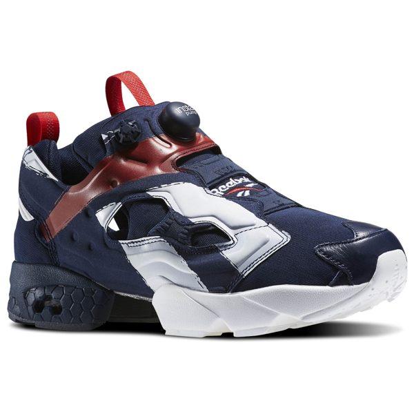REEBOK INSTA PUMP FURY OB 美國隊 男鞋 女鞋 慢跑鞋 藍紅白 【運動世界】 AR3197【12/7單筆滿499結帳輸入序號 12SS100-4 再折↘100 | 單筆滿120..