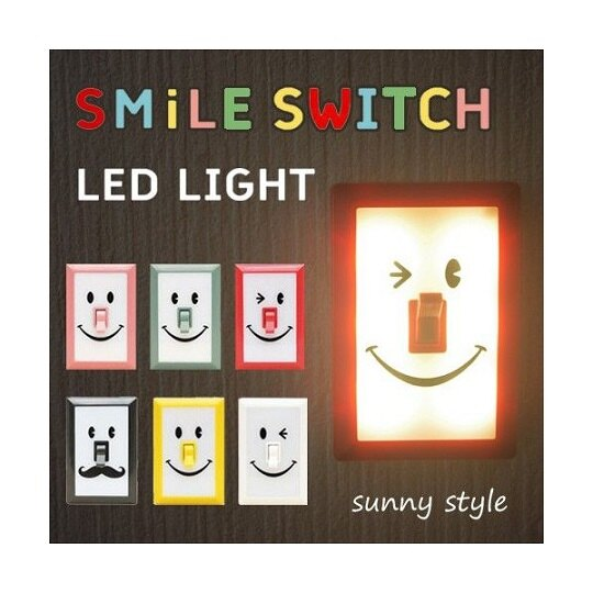 this-this|Spice Smile Switch LED燈 - 共三款