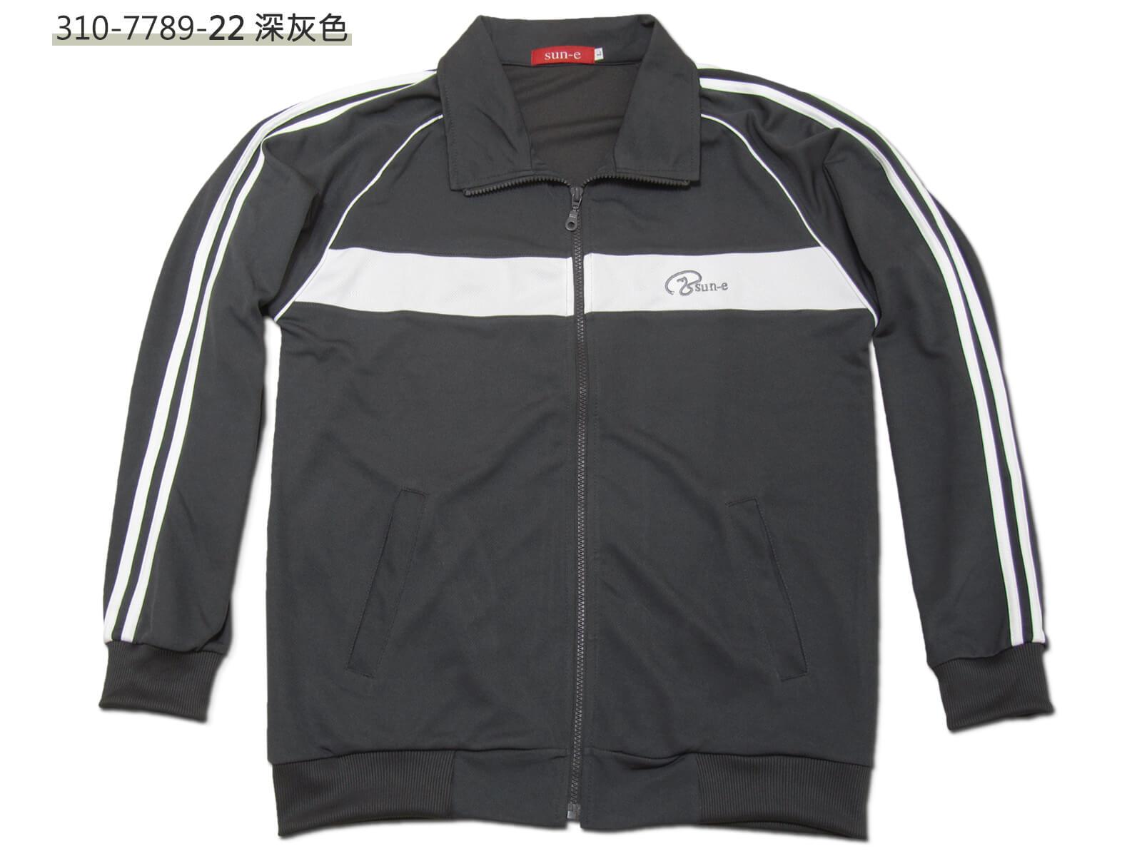 sun-e台灣製吸濕排汗薄外套、運動外套、單層薄外套、防曬外套、手臂配色織帶(310-7789-08)深藍色、(310-7789-21)黑色、(310-7789-22)深灰色 尺寸:L XL(胸圍:44~46英吋)(男女可穿) [實體店面保障] 5