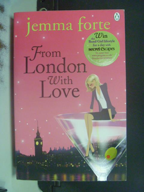 【書寶二手書T6/原文小說_OLX】From London with Love_Jemma Forte