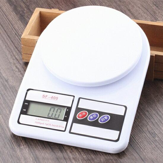 ?MY COLOR?10公斤按鍵電子秤 平台式 廚房 家用 食品 烘焙 藥材 實驗 精度 磅秤【X33】