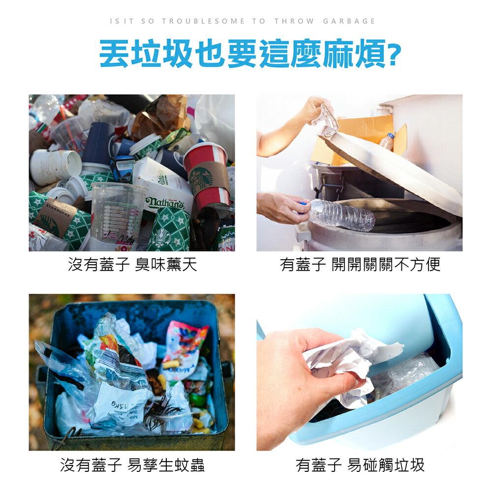 【免運費 自動感應 垃圾桶 智能觸碰 一踢就開】感應式垃圾桶 智能垃圾桶 感應垃圾桶 浴室 垃圾桶 分類垃圾筒 廁所 2