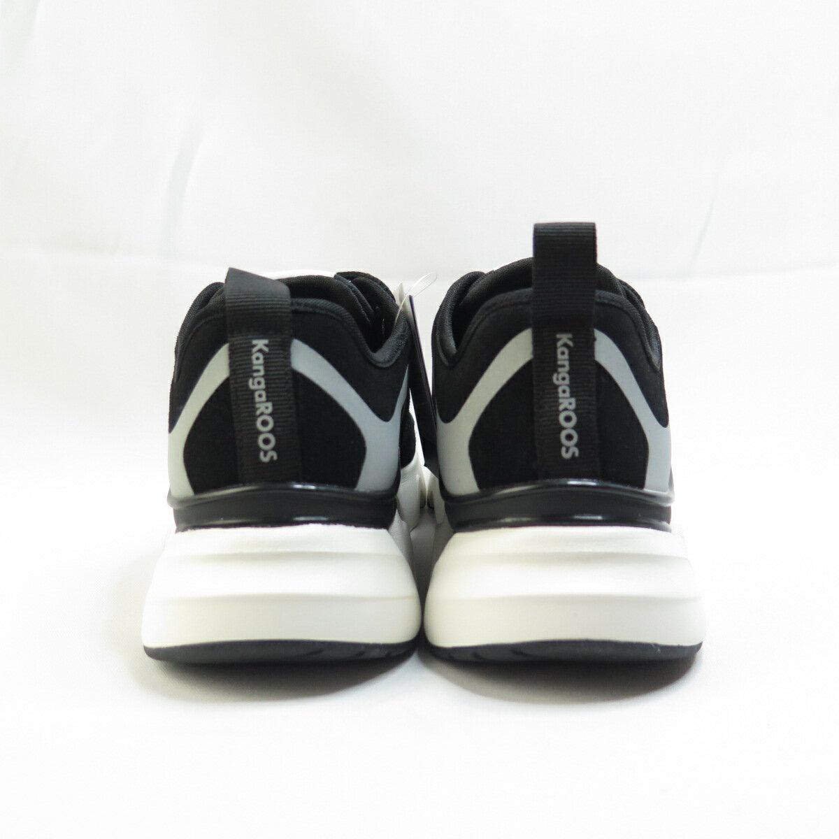 KangaROOS 袋鼠 GROOVE II 復古休閒鞋 KW11260 女款 黑白【iSport愛運動】