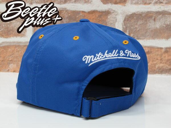BEETLE NESS NBA WARRIORS 金州勇士 CURRY 藍黃 尼龍 SNAPBACK 棒球帽 總冠軍 MN-375 1