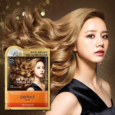 韓國 Mise en scene 急救焗油護髮蒸氣髮膜 20ml+15ml (玫瑰精華) 蒸氣帽 護髮 精華保濕【N101914】