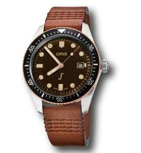 ORIS豪利時Oris琴宇謙揚曾宇謙0173377204388-Set青銅復刻潛水機械腕錶42mm