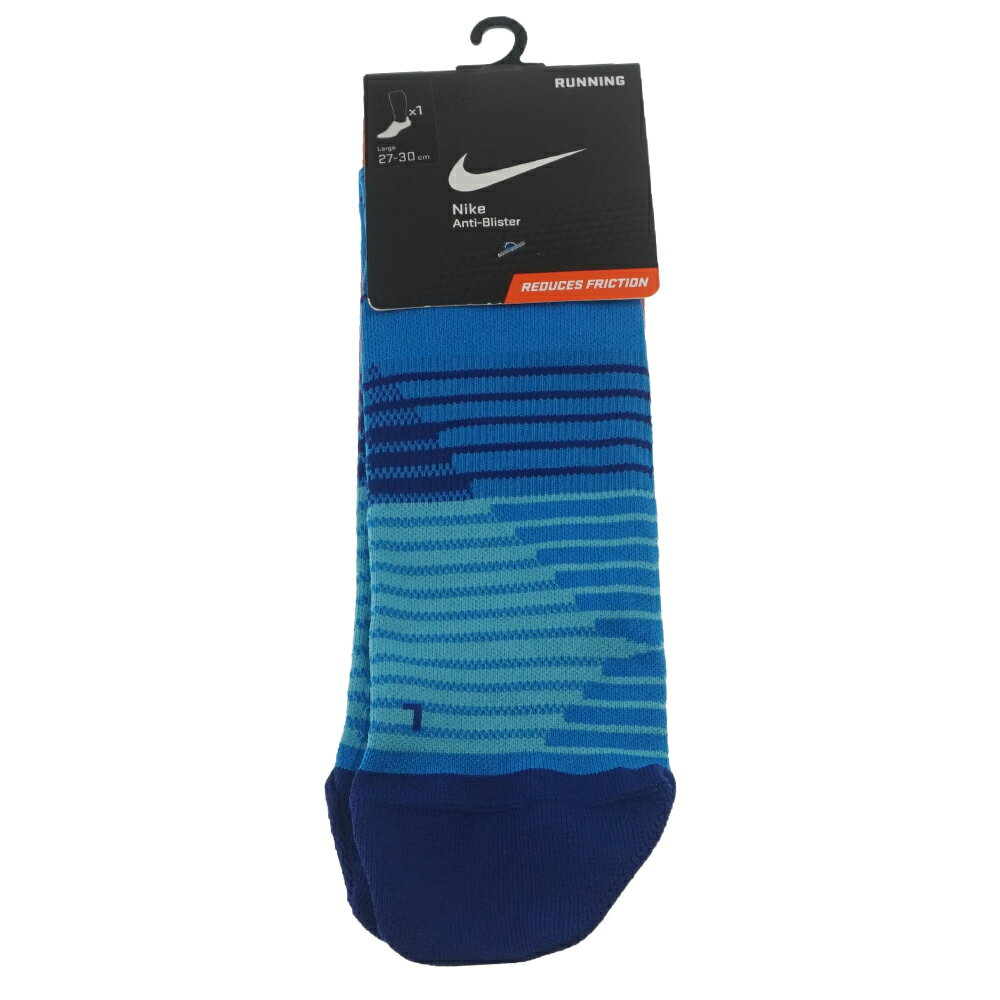 NIKE 耐吉 NIKE RUNNING DRI-FIT LIGHTWEIGHT NO SHOW TAB 休閒運動襪  SX5195406 Big-O Sports