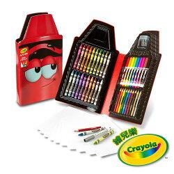 《 美國 Crayola 繪兒樂 》蠟筆娃娃禮盒組 - 得意紅