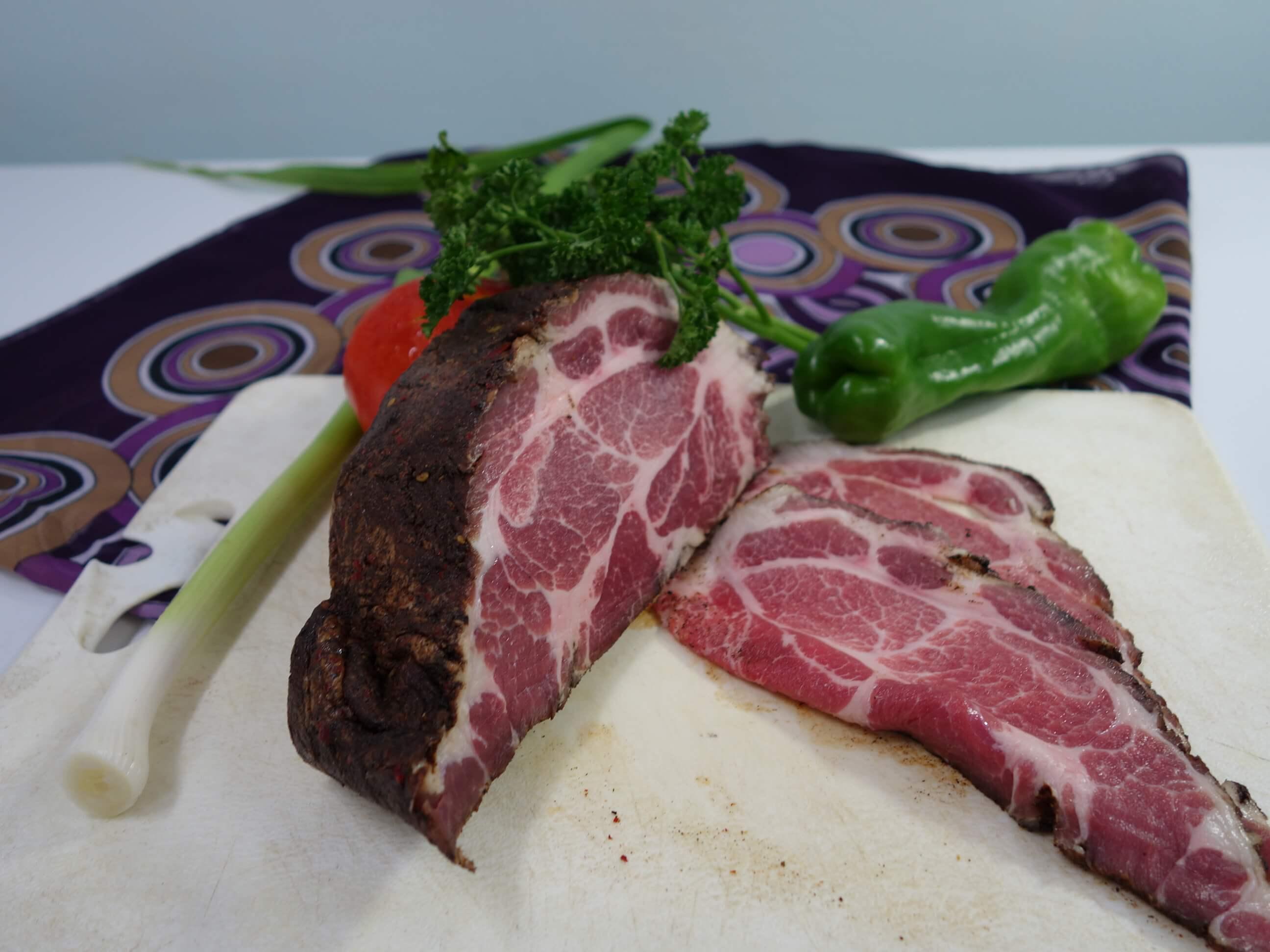 ~阿丁健天然食品工坊~ 天然法式香草培根 梅花豬肉  容量 : 600公克  包