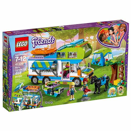 樂高積木LEGO《LT41339》2018年Friends姊妹淘系列-米雅的露營車