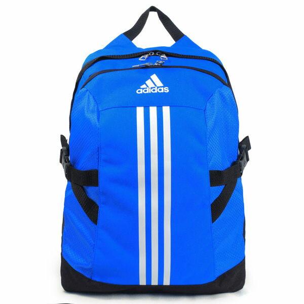 ADIDAS BP POWER II 後背包 雙肩 藍 白 【運動世界】 AJ9442