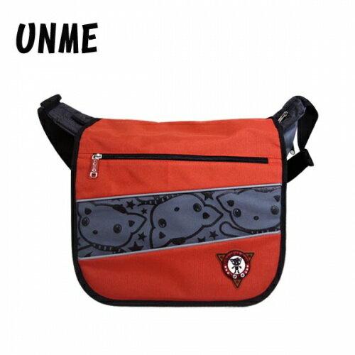 ~加賀皮件~ UNME 多色 安全反光 MIT 橫式側背包 兒童書包 斜背包 ~1130~