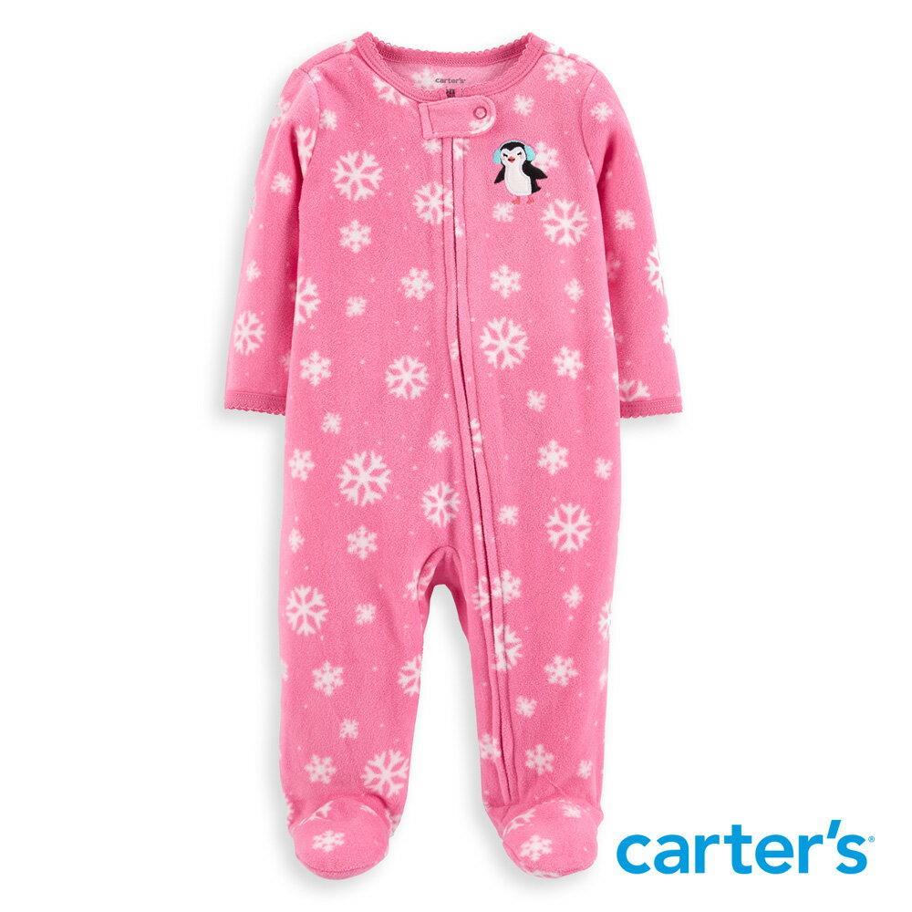 Carter's 雪花企鵝連身裝 - 限時優惠好康折扣