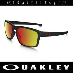 【Oakley】太陽眼鏡 休閒 法拉利聯名款 Sliver™ Ferrari Ruby Iridium 9269-07 Travellight旅形