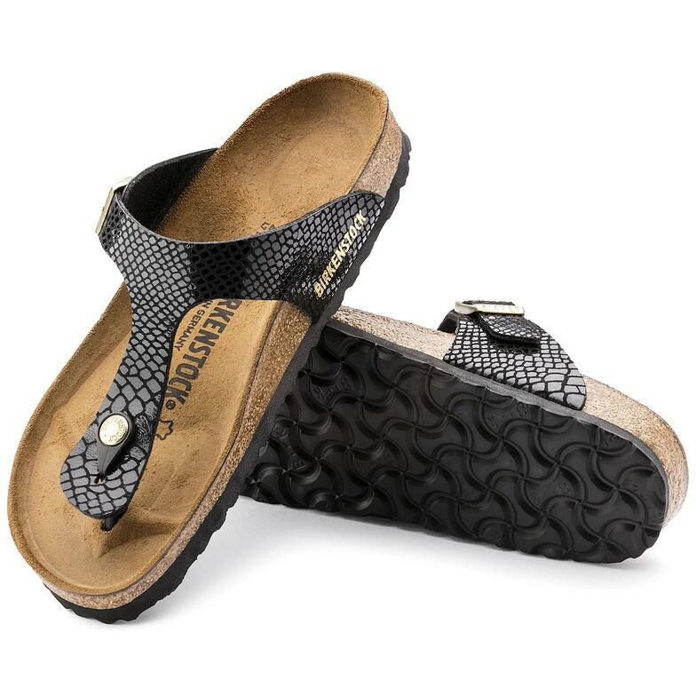 宜蘭勃肯 Birkenstock 宜蘭勃肯BIRKENSTOCK GIZEH吉薩 夾腳拖鞋 菱格紋X黑