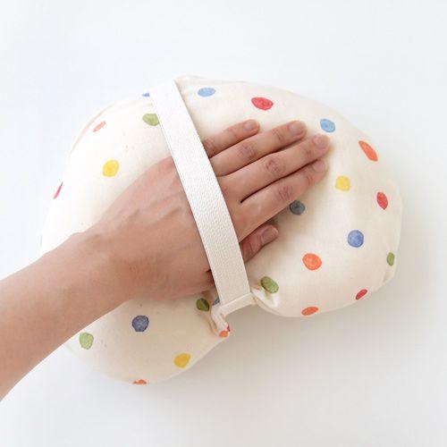 Hoppetta - Naomi Ito - 彩虹波點多功能嬰兒枕 (繽紛) 7