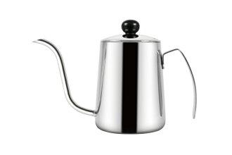 Driver不鏽鋼咖啡細口壺550ml手沖壺壺身一體成型-大廚師百貨