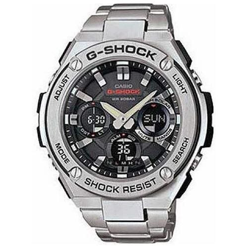 Casio G-Shock G-Steel Solar Power Ana-Digi Watch GSTS110D-1A 0