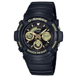 【東洋商行】免運 CASIO 卡西歐 G-SHOCK 賽車運動錶 金x黑 AW-591GBX-1A9DR 原廠公司貨 附保證卡 保固期一年