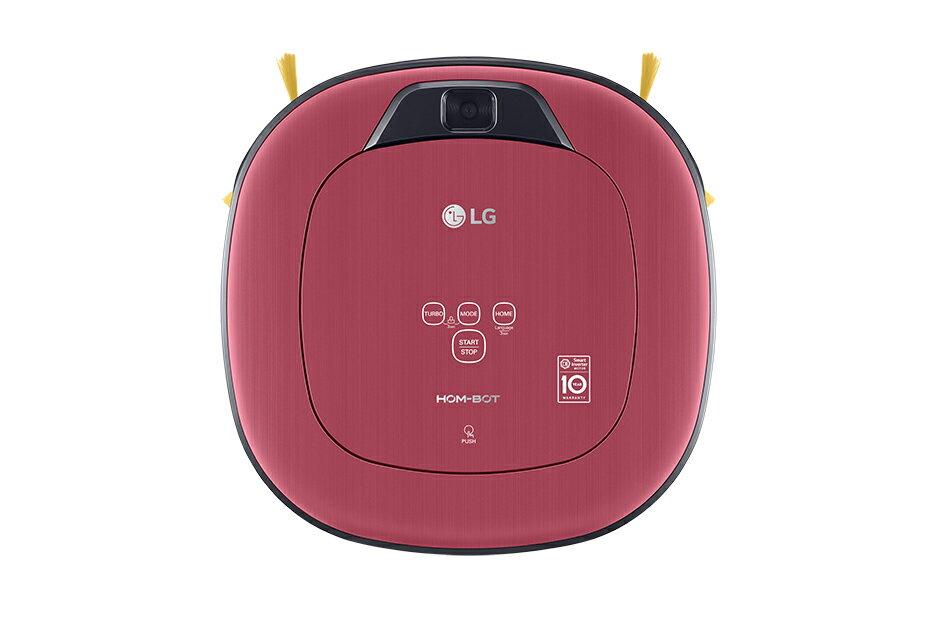 分期0利率  LG 單眼 掃地機 VR66413LVM 紅色  WIFI版 LINE控制 變頻馬達▲最高點數回饋23倍送▲