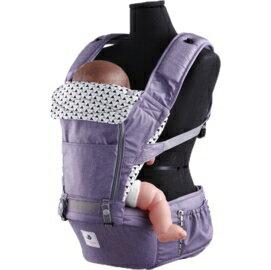 *babygo*韓國 Pognae-No.5超輕量機能坐墊型揹巾【米蘭紫】POG511003