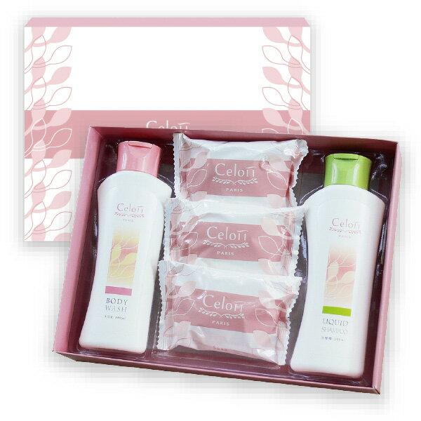 Celoii香皂禮盒(1沐浴1洗髮3皂) 0
