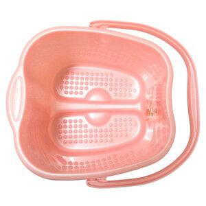 日本製INOMATA泡腳桶12L (粉色) ★人體工學設計 好提 好用 ★ 1