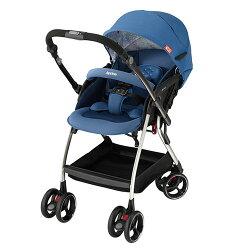 Aprica 愛普力卡 四輪自動定位導向型嬰幼兒手推車 Optia新視野-品格藍【悅兒園婦幼生活館】