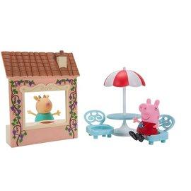 【粉紅豬小妹】PeppaPig-粉紅豬小妹遊戲時間情境組-披薩派對479元