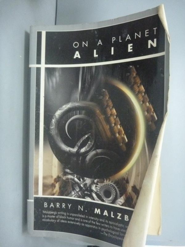 ~書寶 書T2/原文小說_HHB~On a Planet Alien_Barry N. M