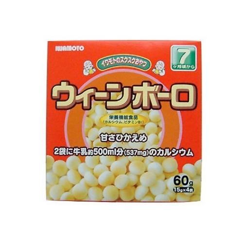 岩本 嬰兒蛋酥60g【愛買】
