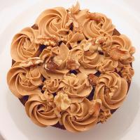 彌月蛋糕推薦到*手作拾光*  6吋 咖啡核桃蛋糕就在手作拾光推薦彌月蛋糕