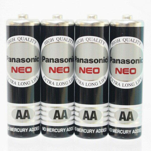 Panasonic 國際牌 AA-3號環保電池(黑色)/一小包4個入{促70} 1.5V 3號電池