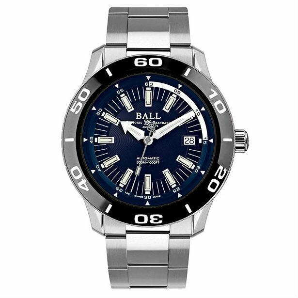 BALL 波爾錶DM3090A-SJ-BE Fireman專業潛水腕錶 / 深藍面42mm - 限時優惠好康折扣