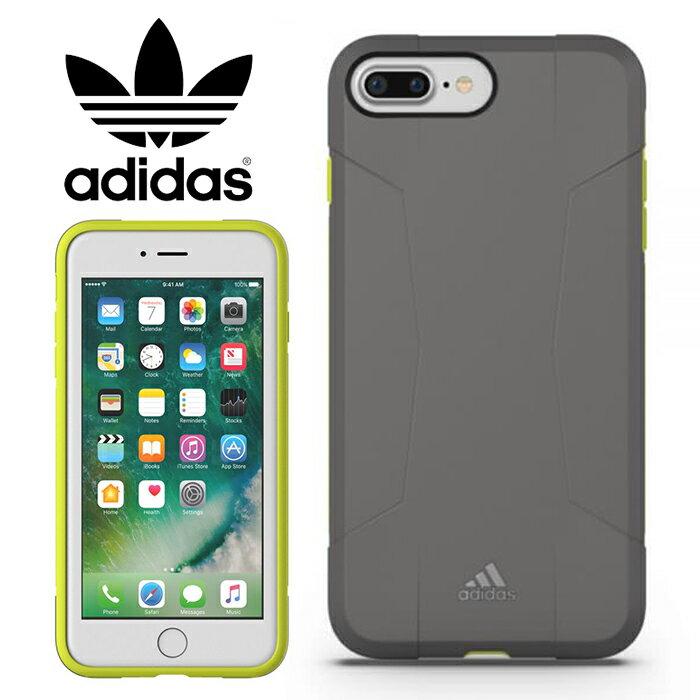 adidas Performance Solo 運動鎧甲 5.5吋 iPhone6/6s/7/8 Plus 灰綠 背蓋/手機套/保護套/手機殼/29591/TIS購物館