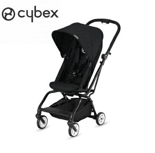 【2018全新上市】德國【Cybex】EezySTwist嬰兒手推車-黑色