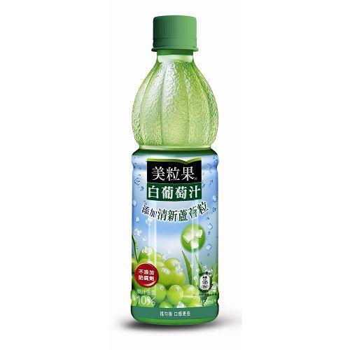 美粒果 白葡萄果汁飲料 450ml