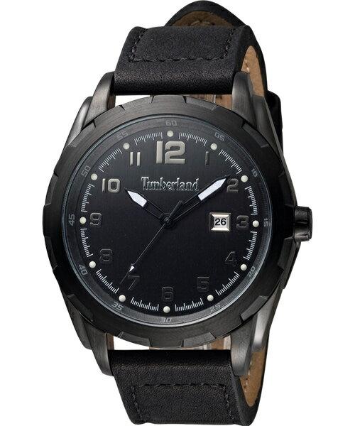 大高雄鐘錶城 Timberland 天柏嵐 TBL.13330XSUB/ 61炫黑城市狂野腕錶/ 黑面45mm