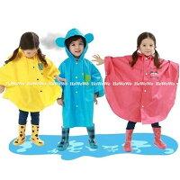 下雨天推薦雨靴/雨傘/雨衣推薦雨衣 可愛小耳朵兒童卡通造型雨衣(80-130cm) SS24101 好娃娃