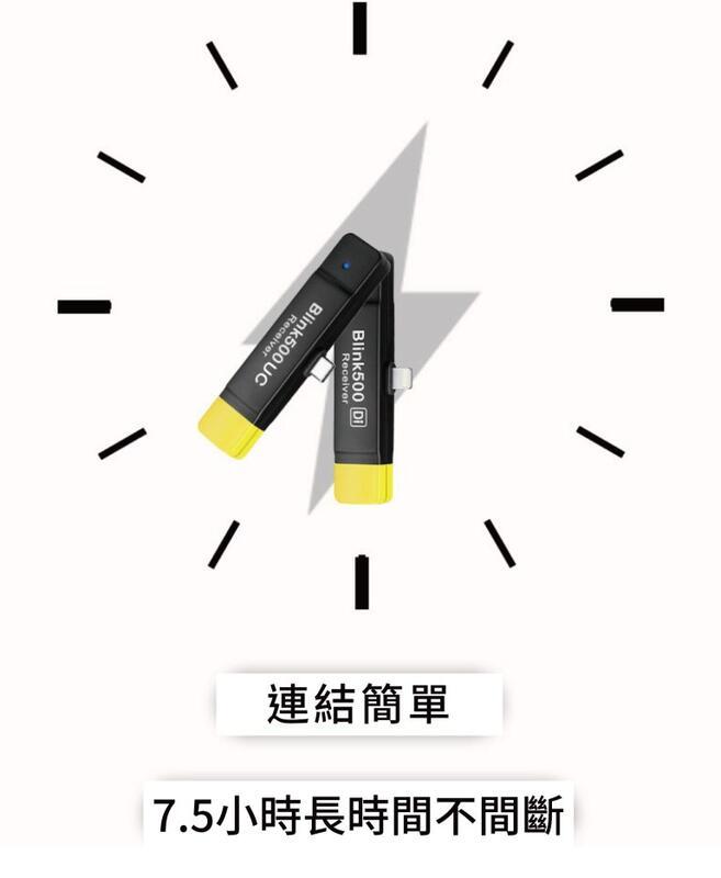 【中壢NOVA-水世界】Saramonic Blink500 RXDi 接收器 iOS 無線麥克風 lightning