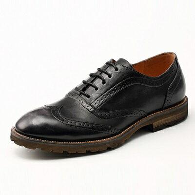 短靴真皮繫帶靴子-英倫時尚巴洛克雕花男靴2色73kk42【獨家進口】【米蘭精品】