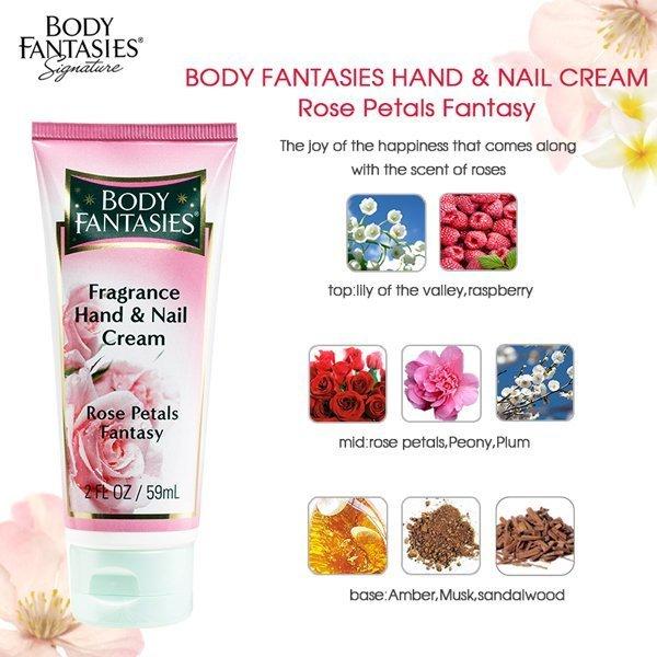 【買一送一】BODY FANTASIES身體幻想 天使薔薇 護手霜