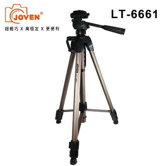 JOVEN LT6661 三向式雲台單眼專用型腳架 無掛鉤版 黑/金隨機出貨